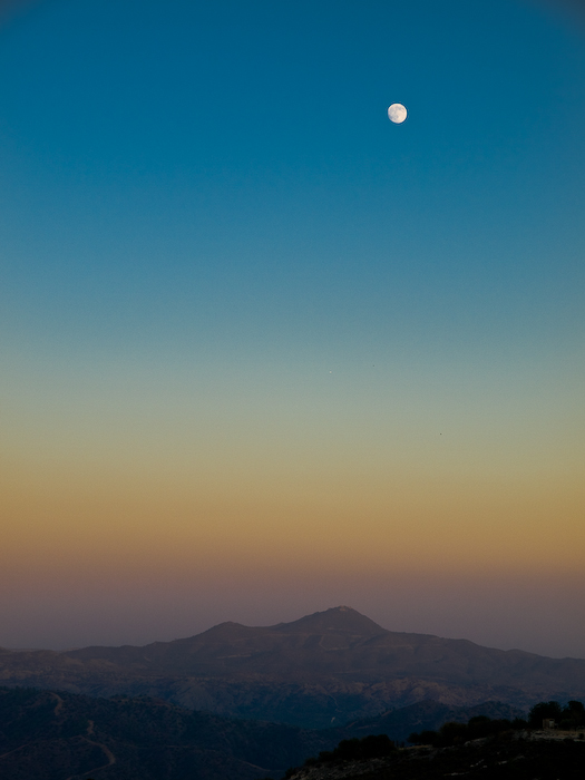 photoblog image Troodos Moon