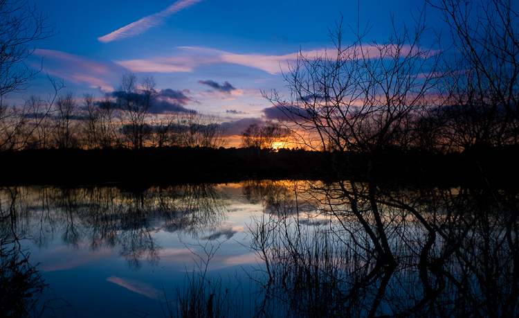photoblog image Broxhead  Common Sunset